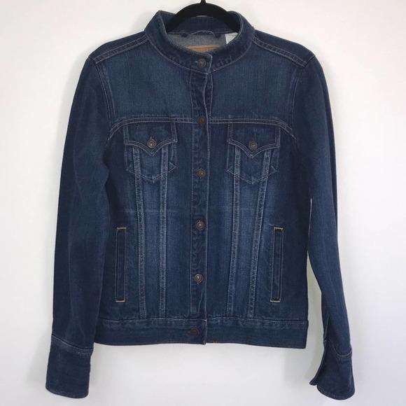 Levi's Juniors Size Medium Denim Moto Jacket
